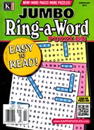 Jumbo Ring a Word Magazine 2/1/2015