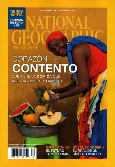 National Geographic En Español Cover - 12/1/2014