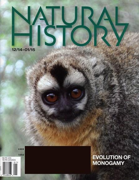 Natural History Cover - 12/1/2014