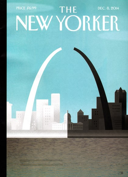 The New Yorker Cover - 12/8/2014