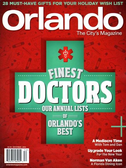 Orlando Magazine Cover - 12/1/2014