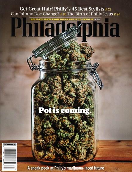 Philadelphia Magazine Cover - 12/1/2014