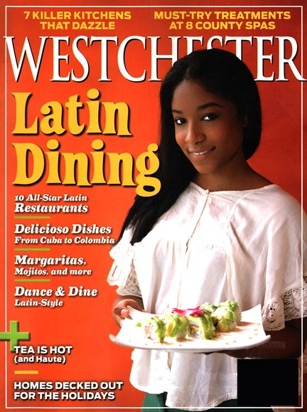 Westchester Magazine Cover - 12/1/2014