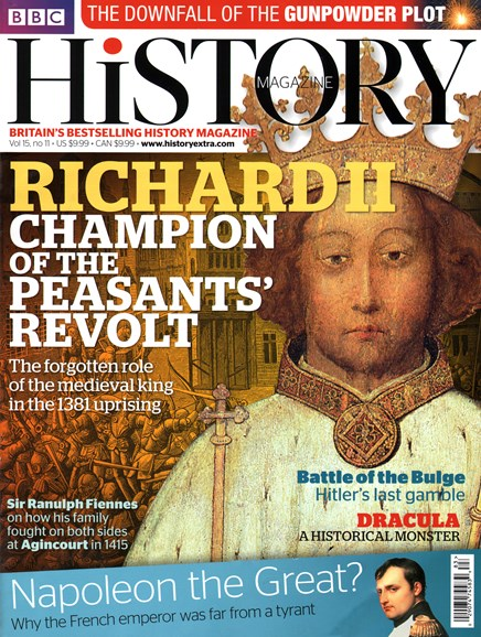 BBC History Cover - 11/1/2014
