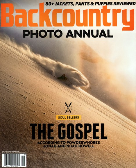 Backcountry Cover - 12/1/2014