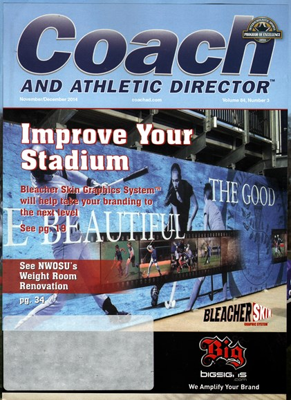 Coach & Athletic Director Cover - 11/1/2014