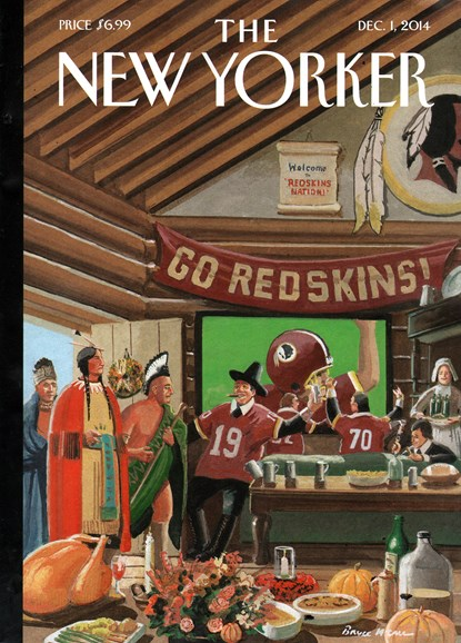 The New Yorker Cover - 12/1/2014