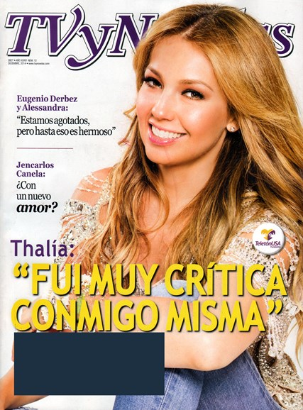 Tv Y Novelas Cover - 12/1/2014