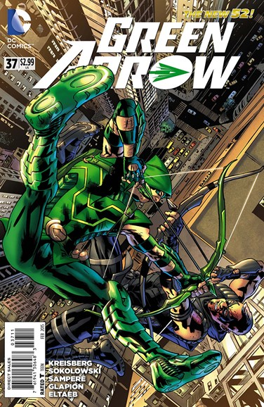 Green Arrow Cover - 2/1/2015