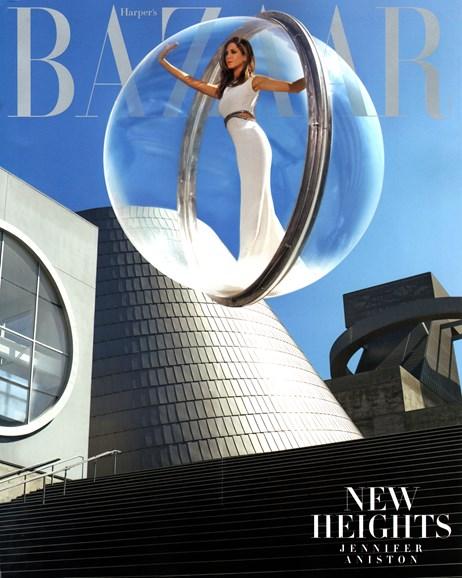 Harper's Bazaar Cover - 12/1/2014