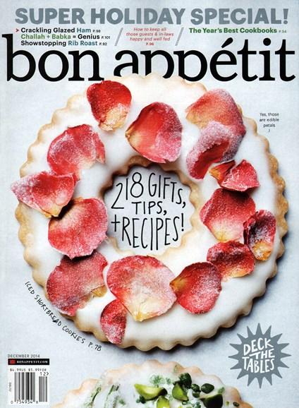 Bon Appétit Cover - 12/1/2014