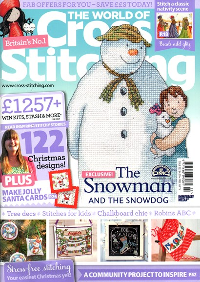 The World of Cross Stitching Cover - 11/1/2014