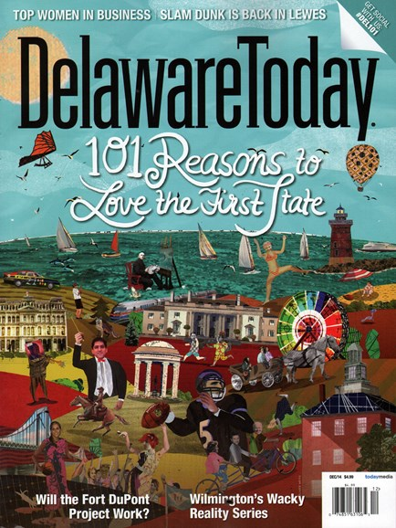 Delaware Today Cover - 12/1/2014