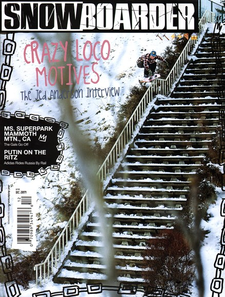 Snowboarder Cover - 12/1/2014