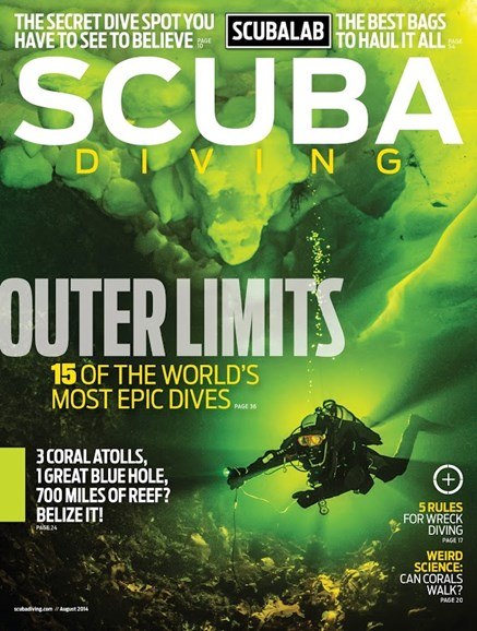 Scuba Diving Cover - 8/1/2014
