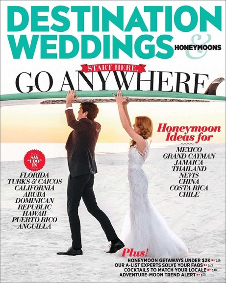 Destination Weddings & Honeymoons Cover - 3/1/2014