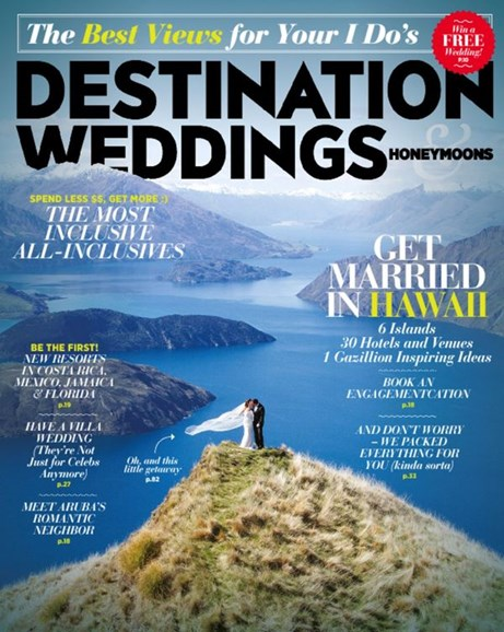 Destination Weddings & Honeymoons Cover - 5/1/2014