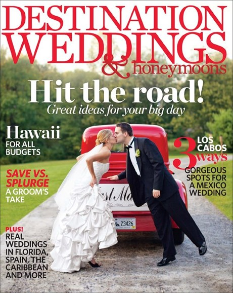Destination Weddings & Honeymoons Cover - 3/1/2013