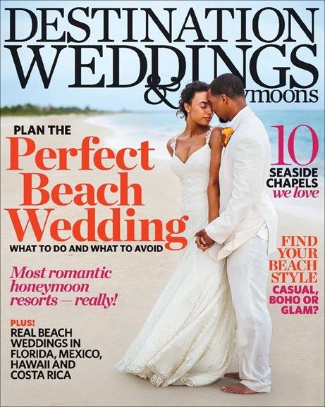 Destination Weddings & Honeymoons Cover - 7/1/2013