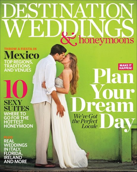 Destination Weddings & Honeymoons Cover - 5/1/2013