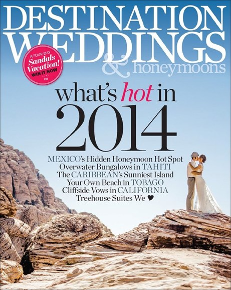 Destination Weddings & Honeymoons Cover - 11/1/2013