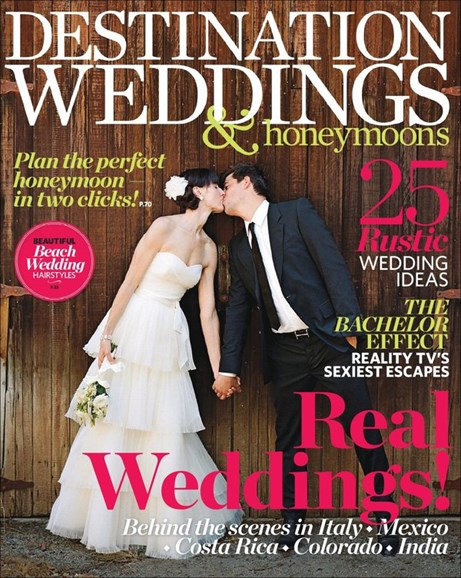 Destination Weddings & Honeymoons Cover - 9/1/2013