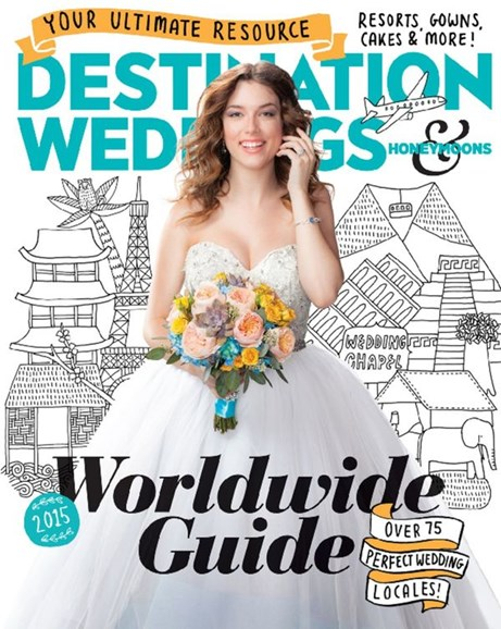 Destination Weddings & Honeymoons Cover - 1/1/2015