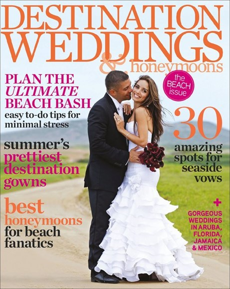 Destination Weddings & Honeymoons Cover - 7/1/2012