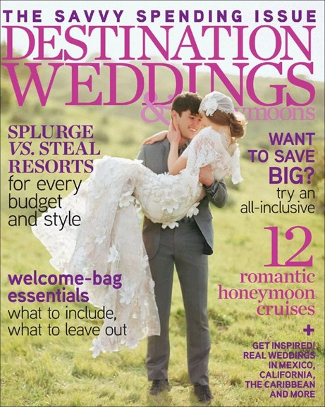 Destination Weddings & Honeymoons Cover - 5/1/2012