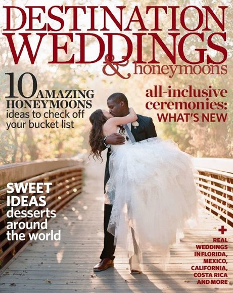 Destination Weddings & Honeymoons Cover - 11/1/2012