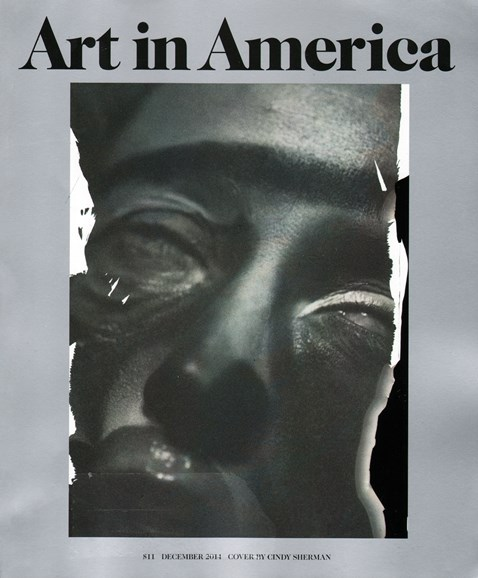 Art In America Cover - 12/1/2014
