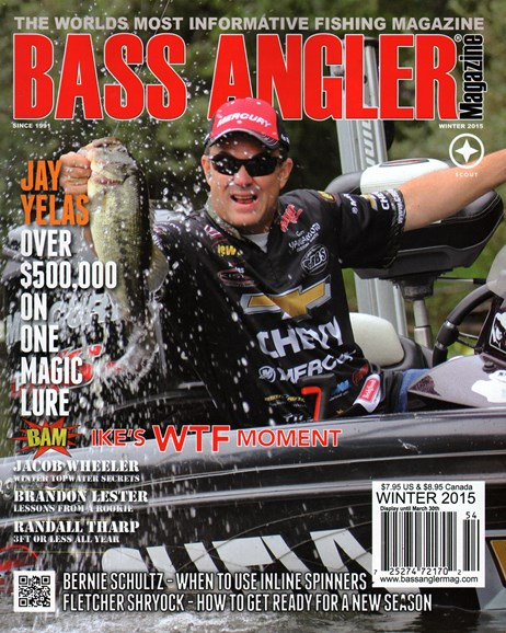 Bass Angler Cover - 12/1/2014