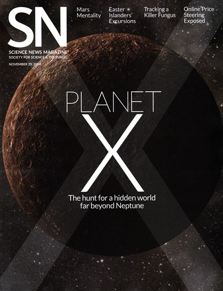 Science News Cover - 11/29/2014