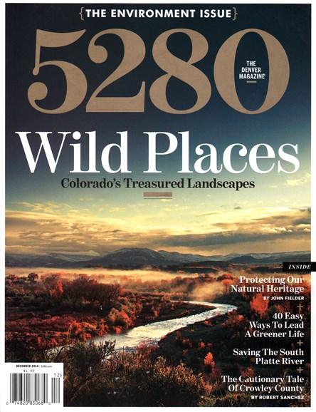 5280 Magazine Cover - 12/1/2014
