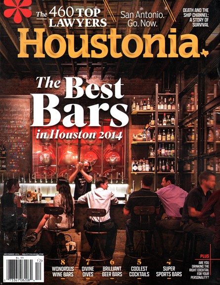 Houstonia Cover - 12/1/2014