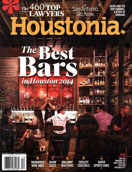 Houstonia Cover - 12/1/2014