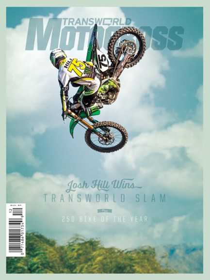 Transworld Motocross Cover - 12/1/2014