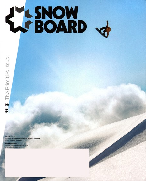 Snowboard Cover - 12/1/2014