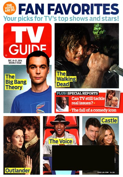 TV Guide Cover - 12/8/2014