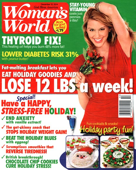 Woman's World Cover - 12/15/2014