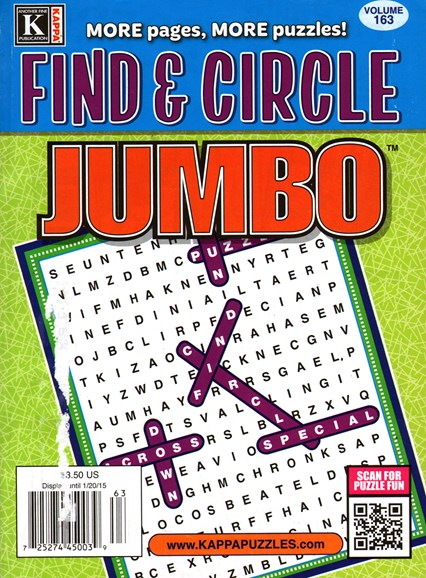 Find & Circle Jumbo Cover - 1/1/2015