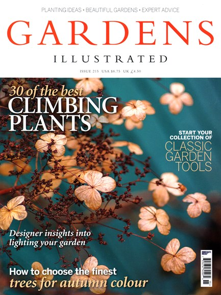 Gardens Illustrated Cover - 11/1/2014