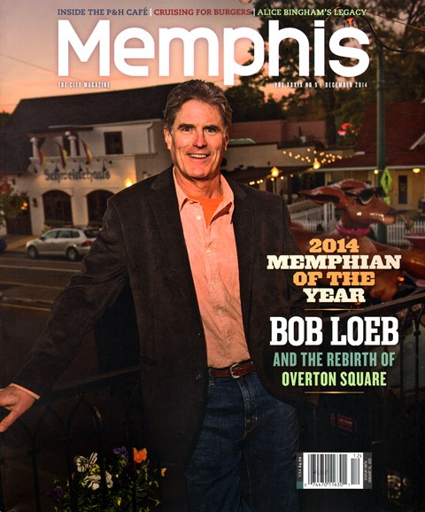 Memphis Cover - 12/1/2014