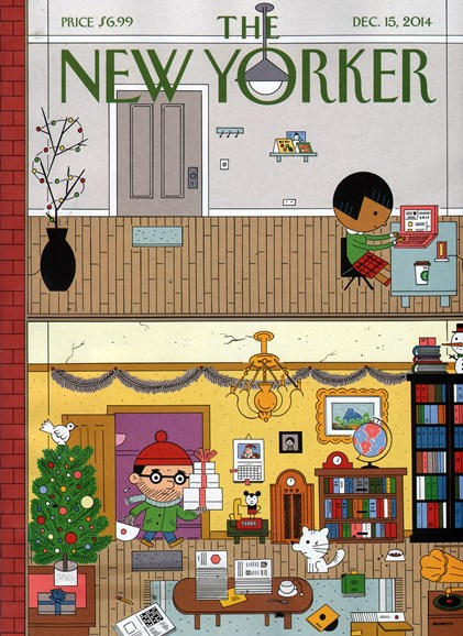The New Yorker Cover - 12/15/2014