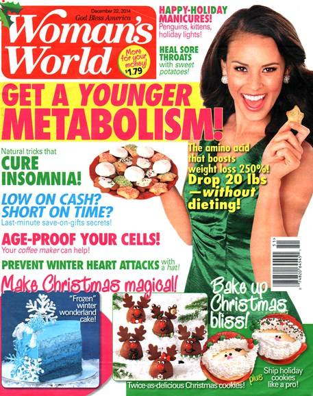 Woman's World Cover - 12/22/2014