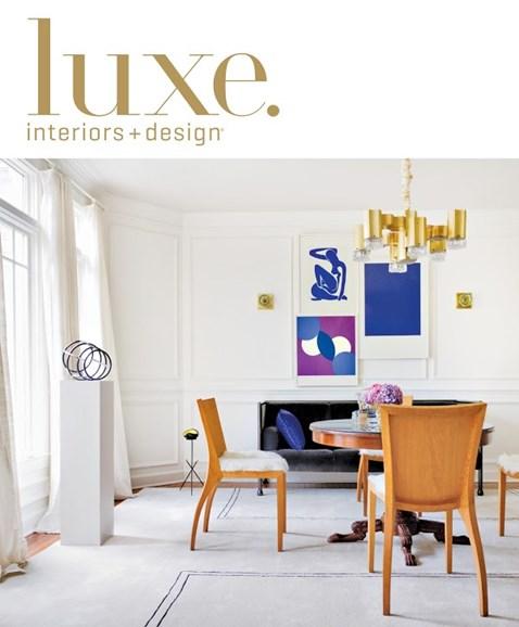 Luxe Interiors & Design Cover - 3/1/2014