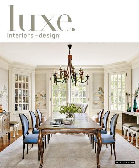 Luxe Interiors & Design Cover - 12/1/2013