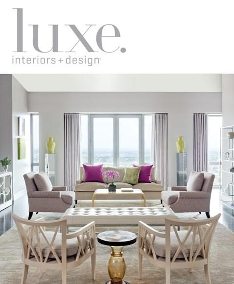 Luxe Interiors & Design Cover - 6/1/2013