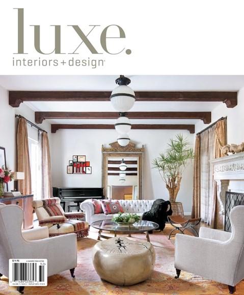 Luxe Interiors & Design Cover - 3/1/2013