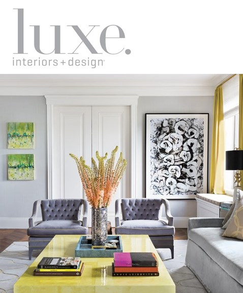 Luxe Interiors & Design Cover - 9/1/2013